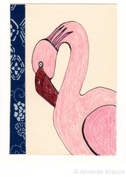 Pink Flamingo005